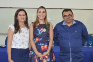 Gestores pro tempore do Icet: Tae, Katiane Nogueira, Keyla Ramos e Lúcio Fábio da Silva