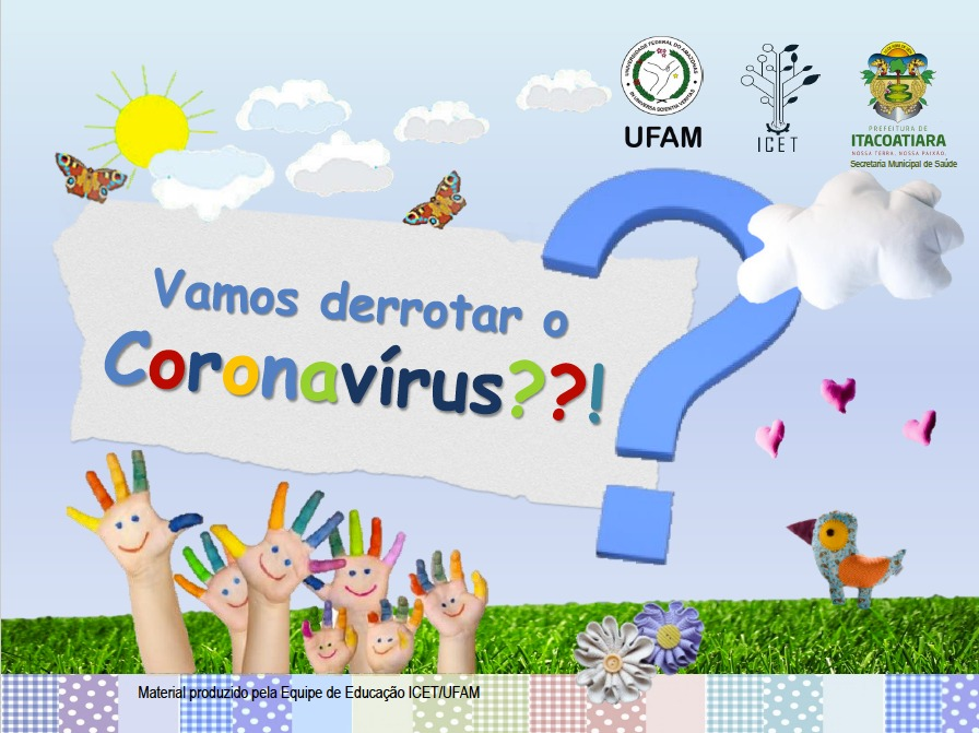 Icet Produz Cartilha Infantil Sobre O Coronavirus Icet